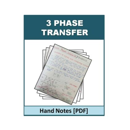3 Phase Transfer Hand Note