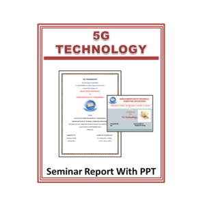 5G TECHNOLOGY Seminar Report With PPT