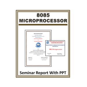 8085 Microprocessor Seminar Report With PPT