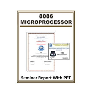8086 Microprocessor Seminar Report With PPT