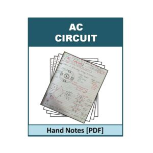 AC Circuit Hand Note