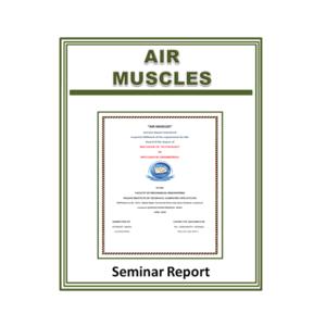 Air Muscles Seminar Report