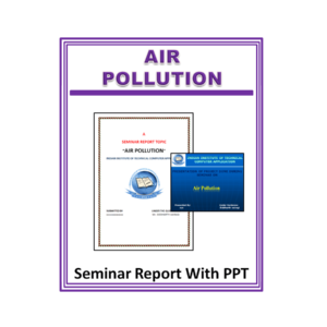 Air Pollution Seminar Report With PPT