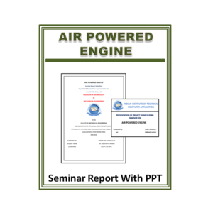 Air Powered Engine Seminar Report with PPT