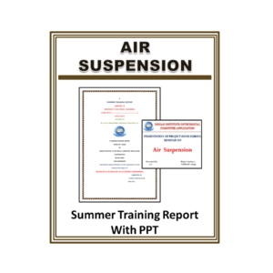 Air Suspension Summer Training Report With PPT