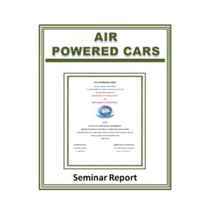 Air powered cars Seminar Report