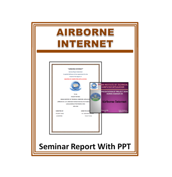 Airborne Internet Seminar Report With PPT