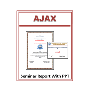 Ajax Seminar Report With PPT