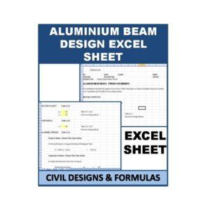 Aluminum Beam Design Excel Sheet
