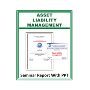 Asset liability management Seminar Report With PPT