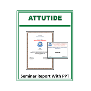 Attutide Seminar Report With PPT