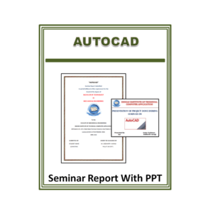 AutoCAD Seminar Report With PPT