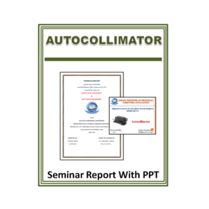 Autocollimator Seminar Report With PPT