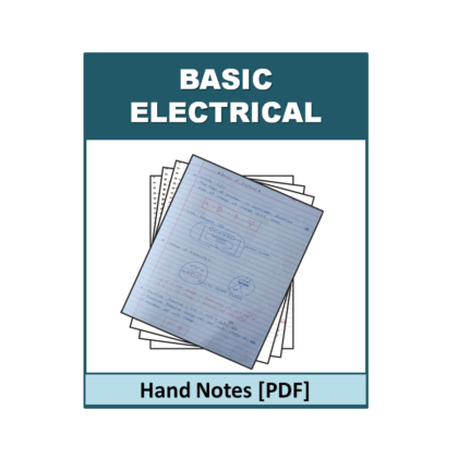 Basic Electrical Hand Note