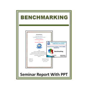 Benchmarking Seminar Report With PPT