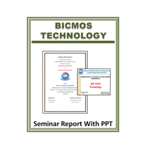 Bicmos Technology Seminar Report With PPT