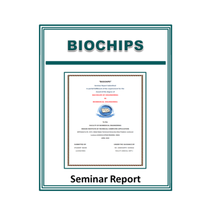Biochips Seminar Report