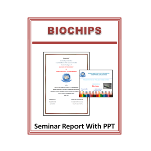 Biochips Seminar Report With PPT