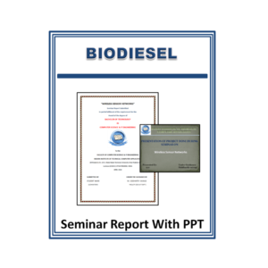 Biodiesel Seminar Report With PPT