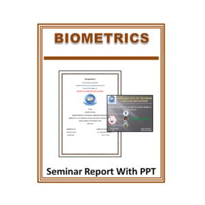 Biometrics Seminar Report With PPT