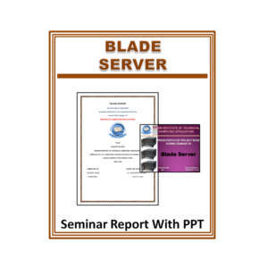Blade Server Seminar Report With PPT