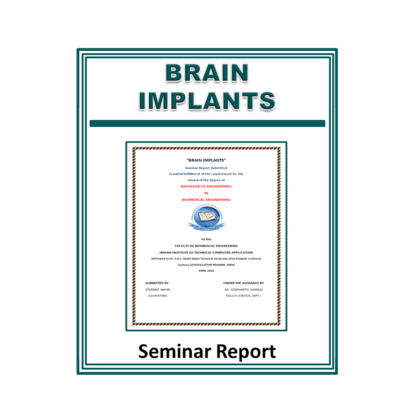 Brain Implants Seminar Report