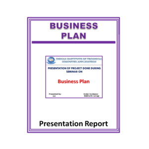 Business Plan Presentation Report