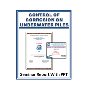 CONTROL OF CORROSION ON UNDERWATER PILES Content PPT