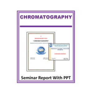 Chromatography Seminar Report With PPT