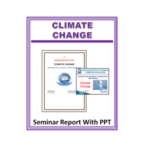 Climate Change Seminar Report With PPT