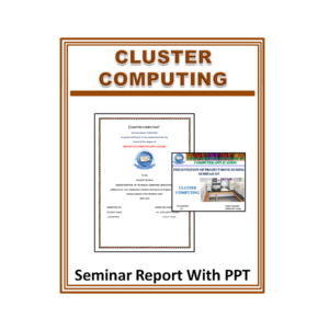 Cluster Computing Seminar Report With PPT