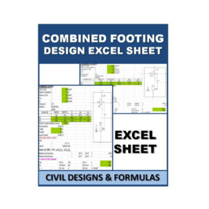 Combined Footing Design Excel Sheets