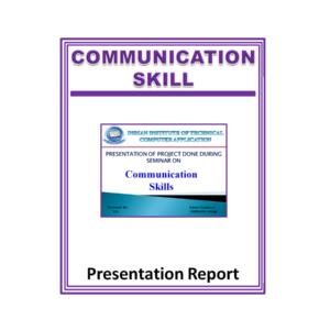 Communication Skills Presentation Report