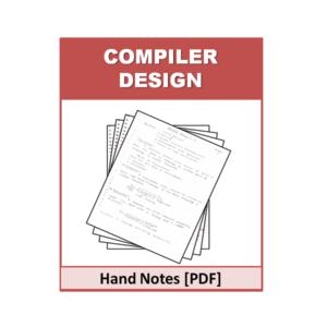 Compiler Design Handnote