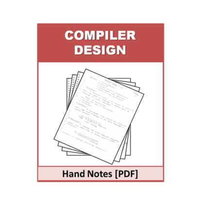 Complier Design Hand Note