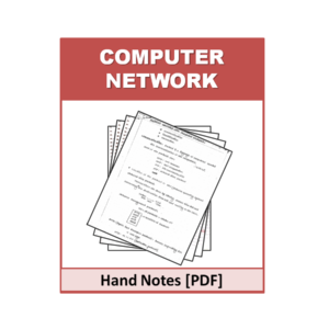 Computer Networks Handnote