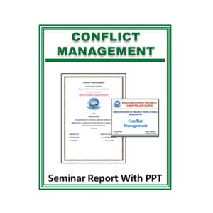 Conflict Management Seminar Report With PPT