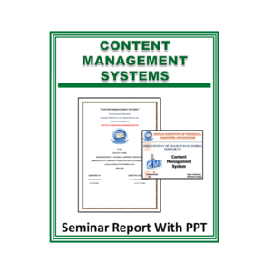 Content Management Systems Seminar Report With PPT