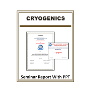 Cryogenics Seminar Report With PPT