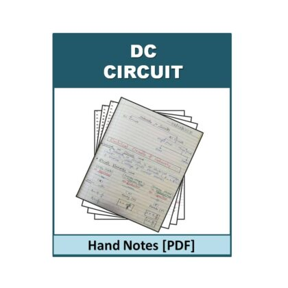 DC Circuit Hand Note