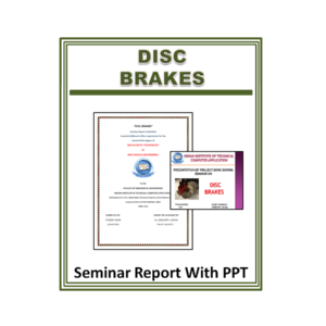 DISC BRAKES Seminar Report With PPT