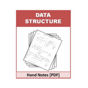 Data Structure Free Handnote