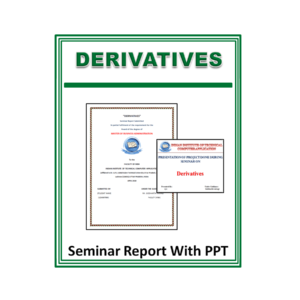 Derivatives Seminar Report With PPT