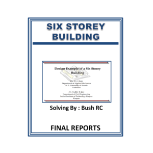 Design Example of a Six Story Building Solving By Bush RC