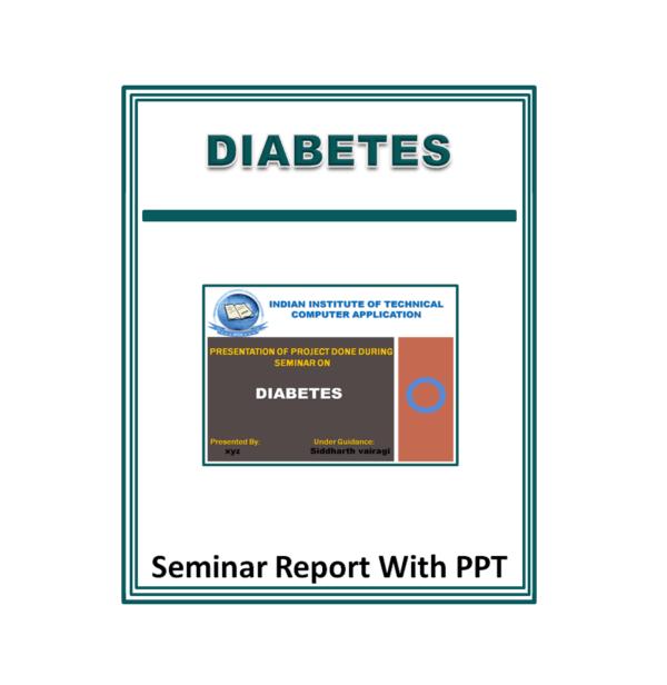 Diabetes Presentation Report