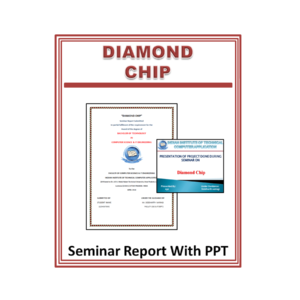 Diamond Chip Seminar Report With PPT
