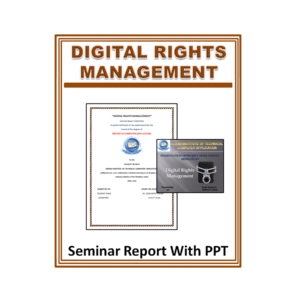 Digital Rights Management Seminar Report With PPT