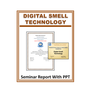 Digital Smell Technology Seminar Report With PPT