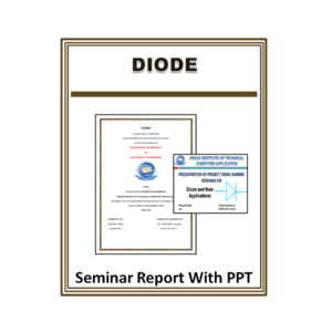 Diode Seminar Report With PPT