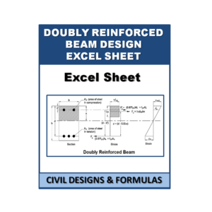 Doubly reinforced beam Design Excel Sheet
